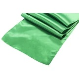Kelly Green Satin