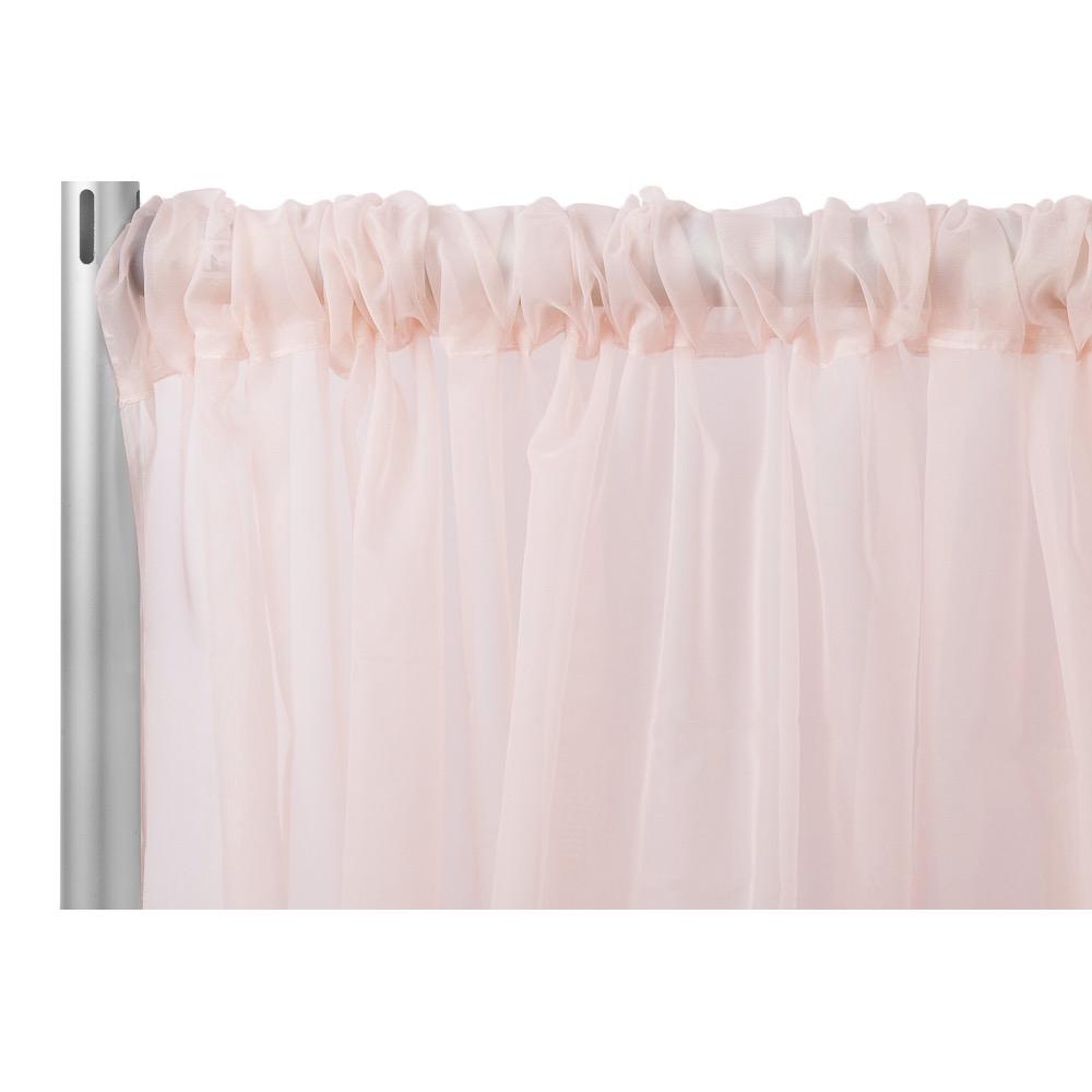 Sheer Pink Backdrop