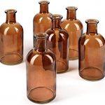 amber medical vases