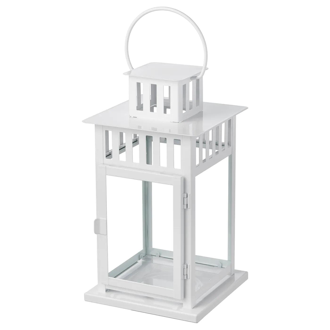 ikea white lantern